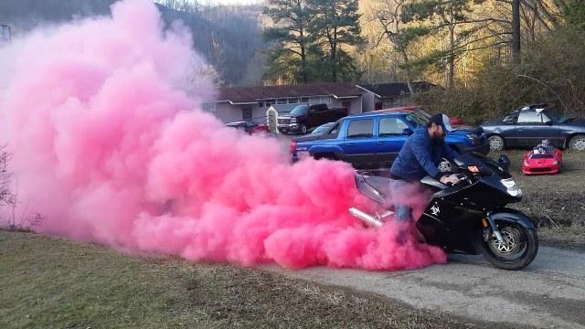 cars or motorcycles gender reveal