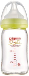 Pigeon breast milk realize bottles