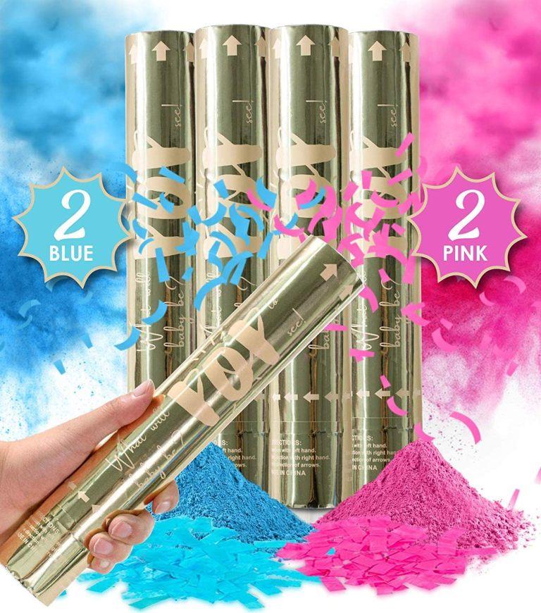 Gender Reveal Confetti Powder Cannon