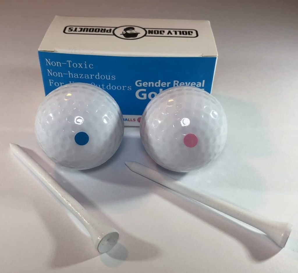 Gender Reveal Party Golf Balls