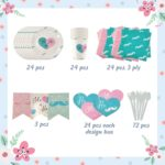 Gender Reveal Party Supplies Kit3
