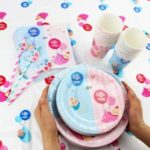 Gender Reveal Party Supplies Set2