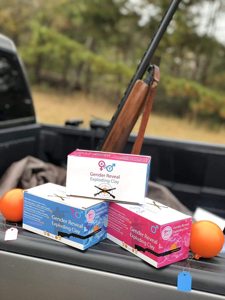 Gender Reveal Shotgun Target Balls