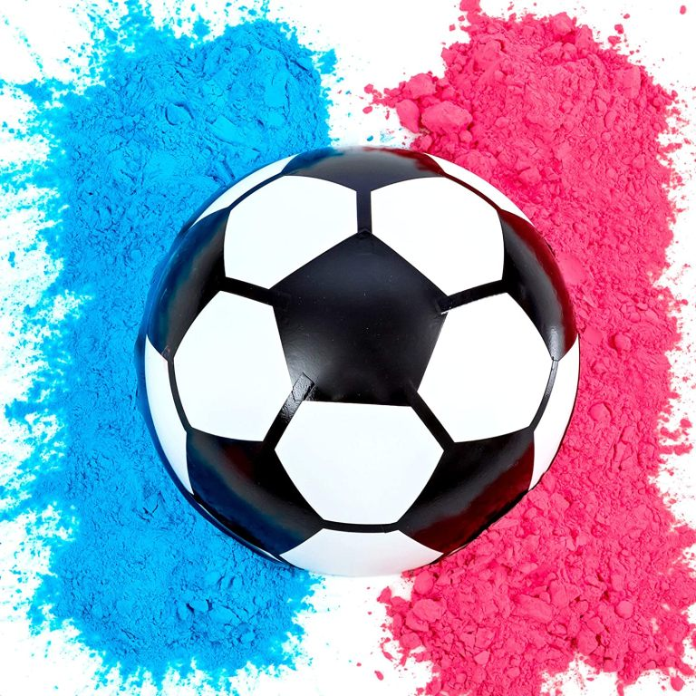 Gender Reveal Soccer Ball
