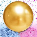 Gold Gender Reveal Balloon1