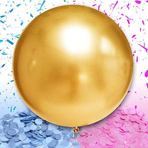 Gold Gender Reveal Balloon