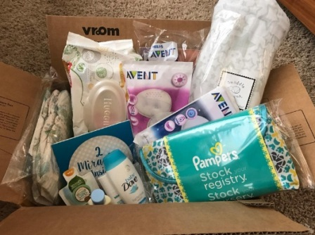 what's in amazon baby registry welcome box